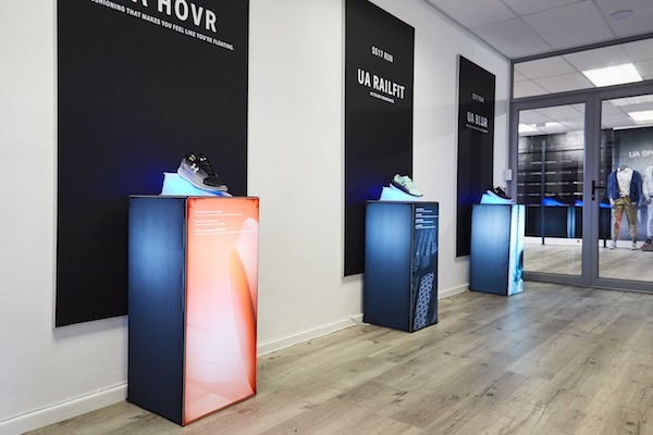 Visual Merchandising Display | Under Armour