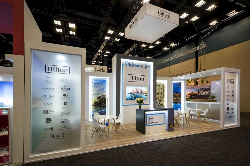 Exhibition Stand | Hilton