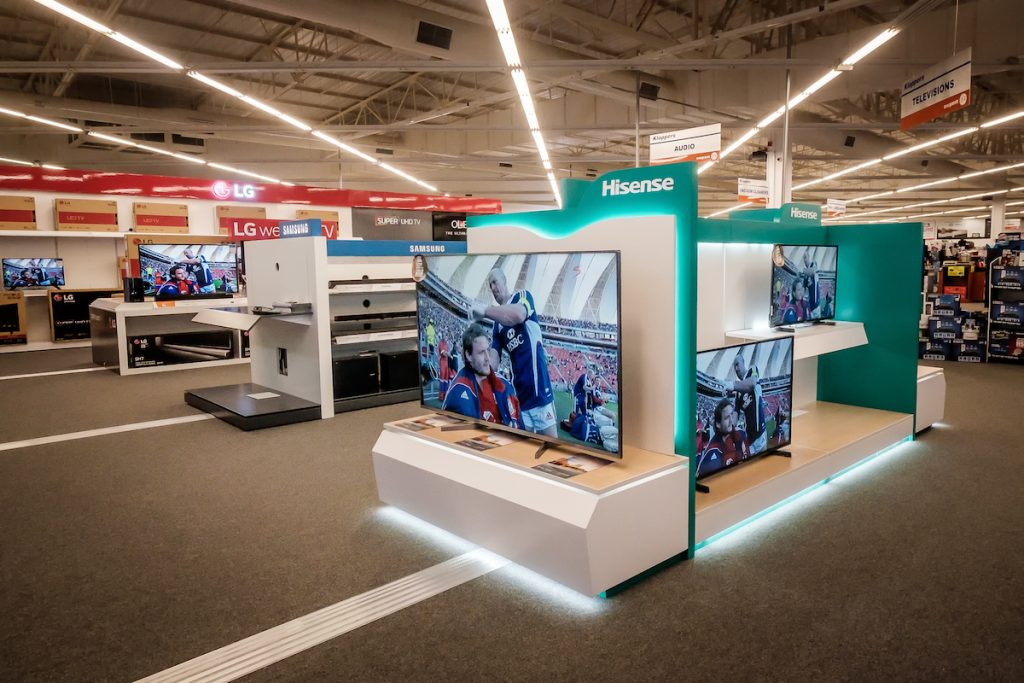 Visual Merchandising Display | Hisense