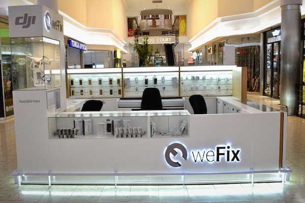 Pop up retail | weFix