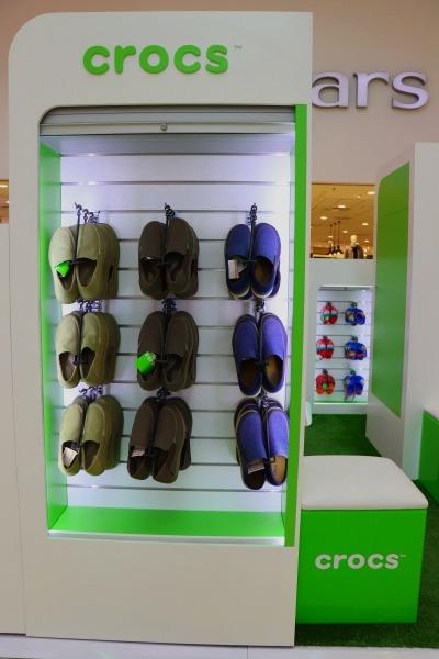 Pop up retail | Crocs