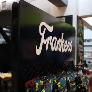 Visual merchandising display | Frankees
