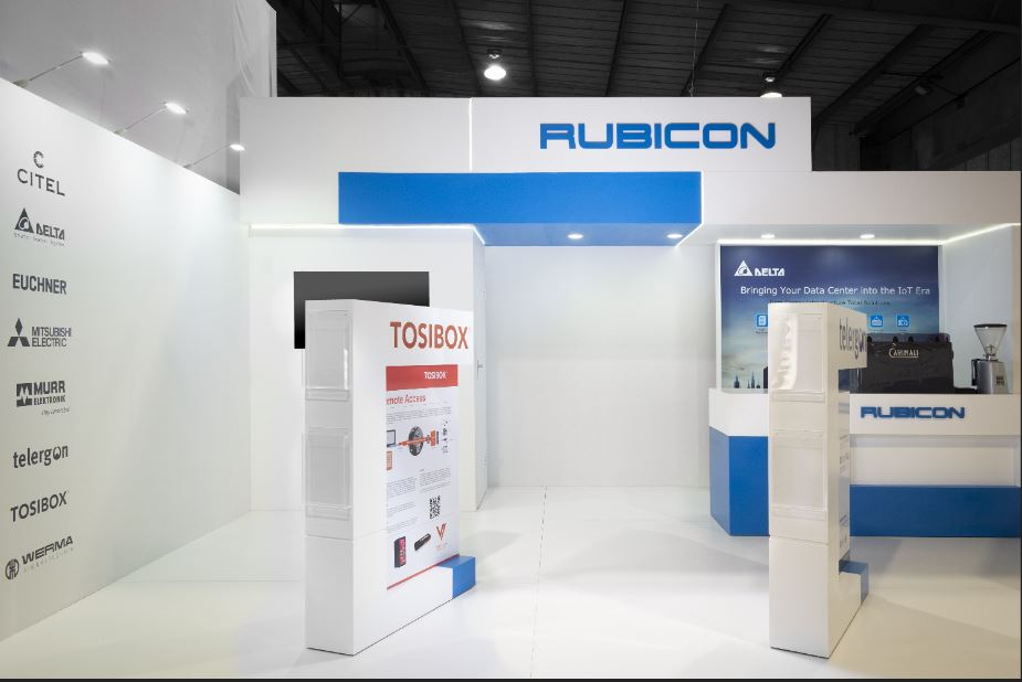 Rubicon Electrical Africa Automation Fair Exhibition Stand