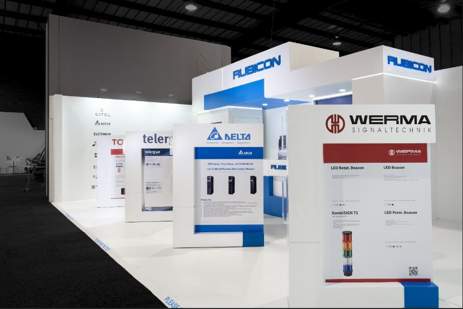 Rubicon Electrical Johannesburg Exhibition Stand