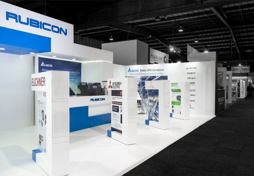 Rubicon Electrical Propak Exhibition Stand