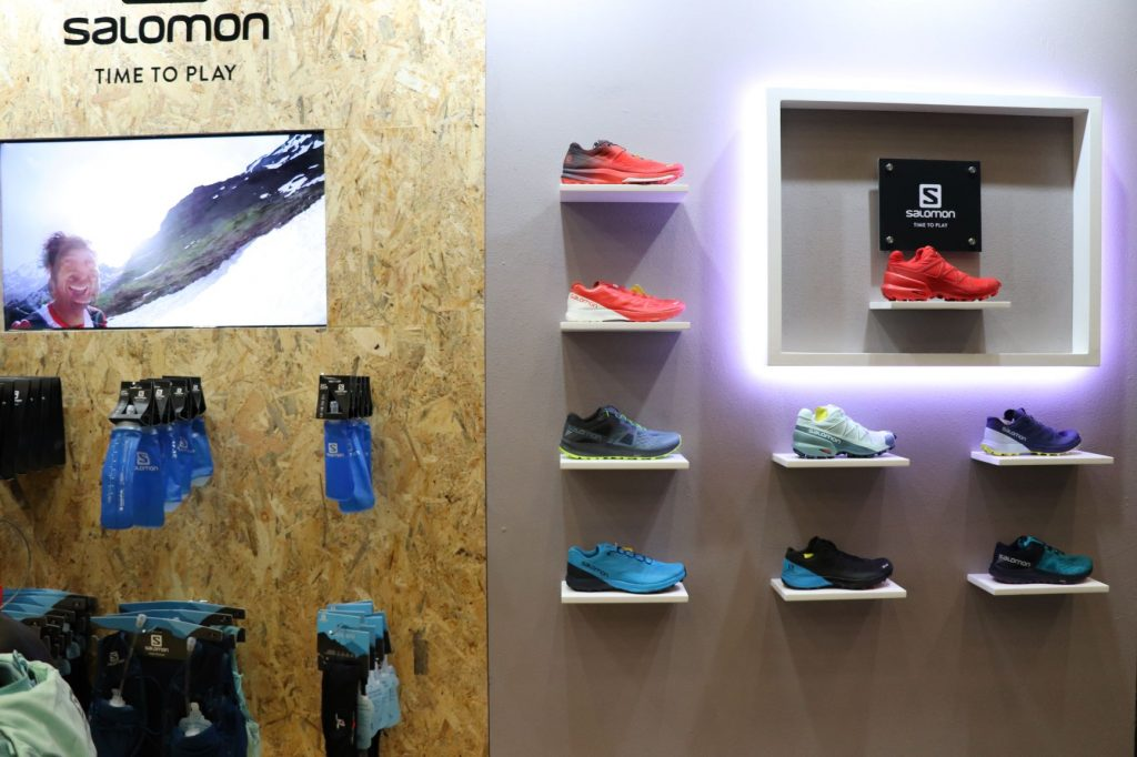 Salomon Exhibition Stand Cape Town